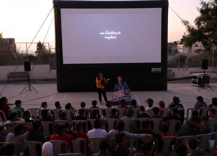 "FilmLab: Palestine's ""Open-Air Cinema"" - Cinema for everyone, everywhere"