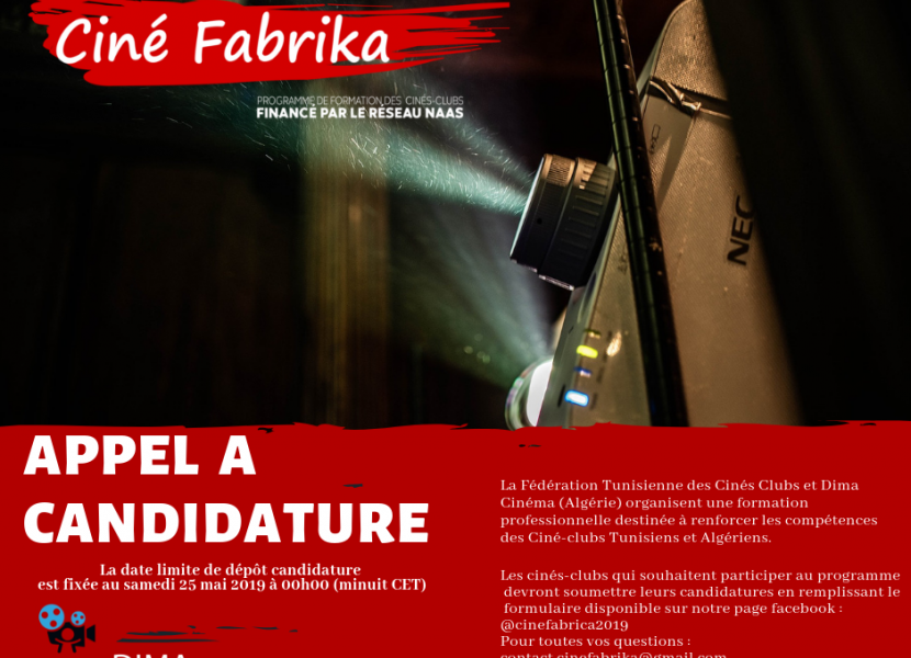 Empowering the capacities of Tunisian and Algerian cinema clubs with Cine Fabrika