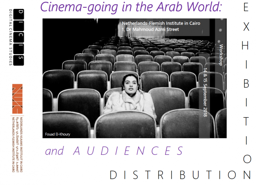 Nour El-Safoury in Cimatheque's conference at the Netherlands-Flemish Institute on MAPPING CINEMA AUDIENCES: EGYPT