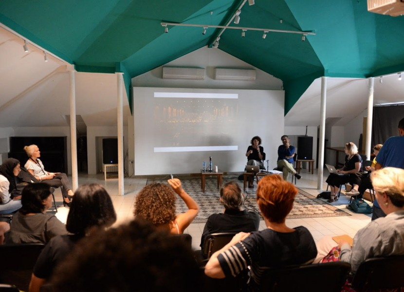 NAAS talk at Palestine Film Meetings | The challenges of film circulation and audience engagement in the MENA region