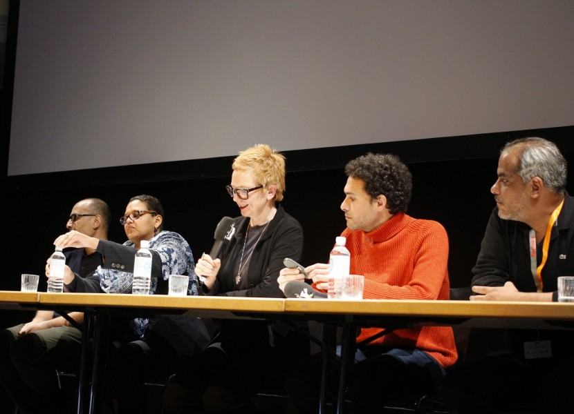 """""""Of Dust and Rubies – A Film on Suspension"""" panel discussion with two NAAS members at the Berlinale Forum Expanded"""