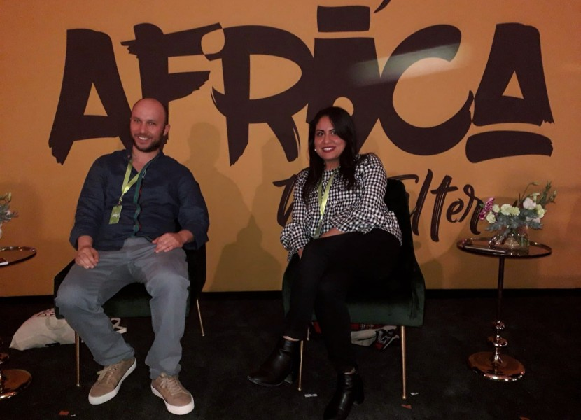 Manel Souissi and Kais Zaied at #AfricaNoFilter