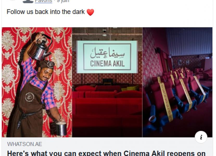 Follow Cinema Akil Back into the Dark