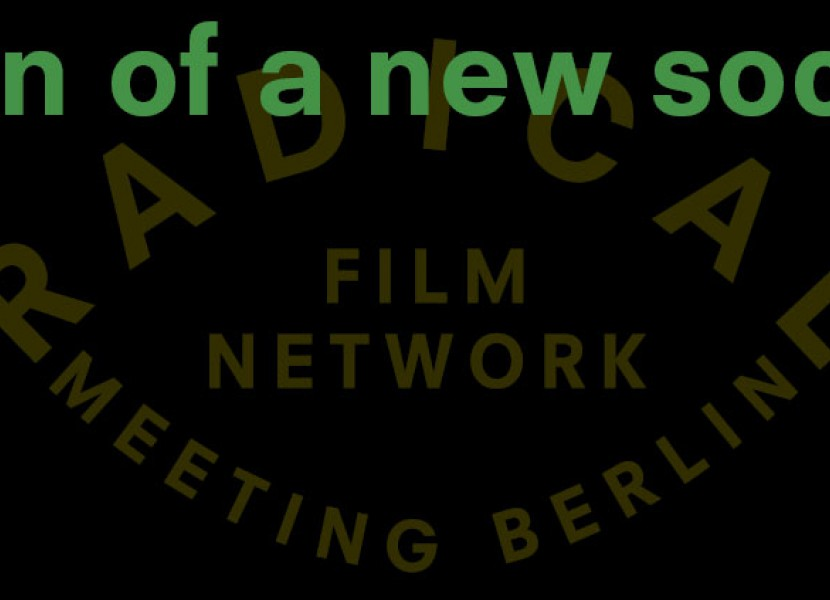 Rojeh Khleif at Radical Film Network's Dawn of a New Society